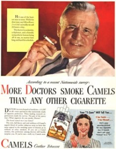 Doctors were used to sell cigarettes. Doctors recommend marijuana.